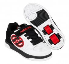 Heelys X2 Plus White/Black/Red